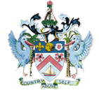 St. Kitts Nevis Coat-of-Arms